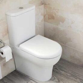 Brand New Vitra Zentrum Close Coupled Toilet
