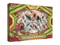 Pokemon scizor ex box and kingdra ex box