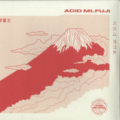 ススム ヨコタ* ‎– Acid Mt. Fuji = 赤富士 SEALED Midgar ‎MDGEM01 2xLP CLEAR VINYL
