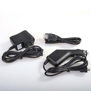 Car+Wall AC Charger+USB for Motorola Droid X MB810 A855