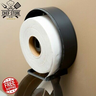 Large 2 Ply Jumbo Toilet Paper Roll With 9 Diameter 12 Case White 725 Feet