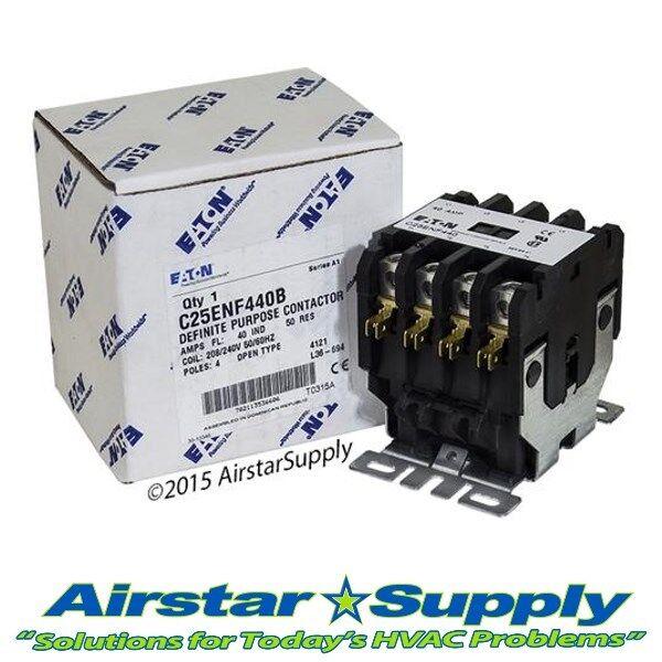 Eaton Cutler Hammer C25DND340 3 Pole 40 Amp 120v coil Contactor relay