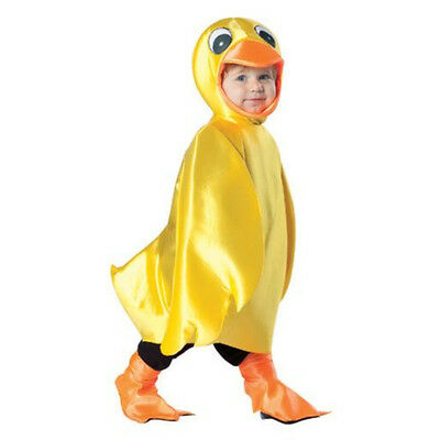 Duck Halloween Costume Toddlers (Yellow Ducky Halloween Costume Duck Dress Up Birthday Costume 18-24 mons)