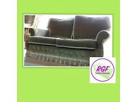 SALE NOW ON!! Green Sofa - Can Deliver For £19