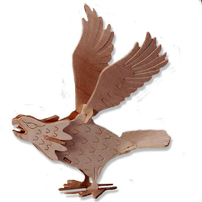 3-D Wooden Puzzle - Small Falcon - Gift Item