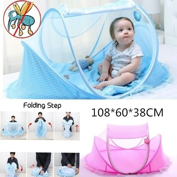 Foldable Crib Travel Baby Mosquito Net Mosquito Tent Outdoor