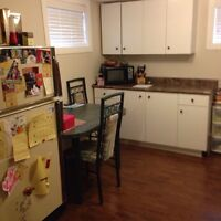 Furnished basement suite on SW hill