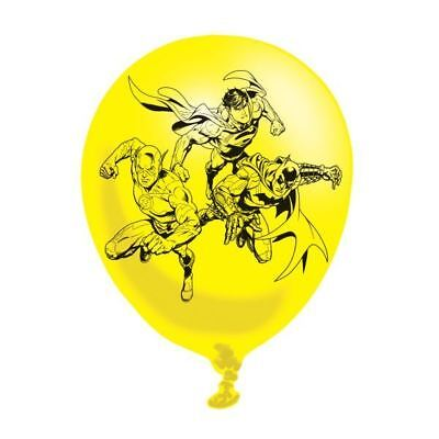 League Enfants Fête Anniversaire Imprimé Latex Ballons (Justice League Ballons)