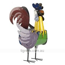 EEIEEIO Roger The Rooster Large Handmade Metal Outdoor Sculpture Castle Hill The Hills District Preview