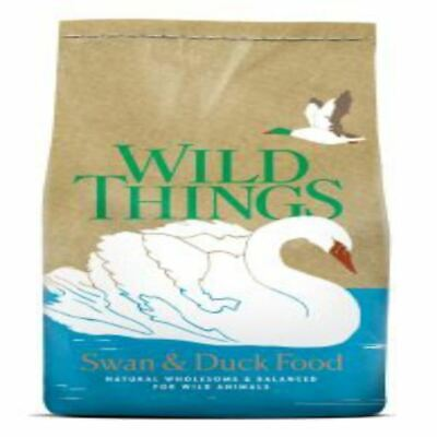 Wild Things Floating Swan Duk Food Feed Diet Pellets Waterfowl 1.5 kg Premium