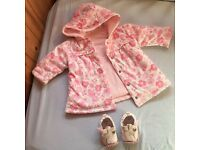 Girls jackets 0-3 and 3-6m