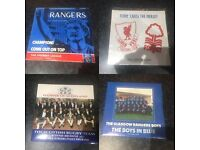 Rangers Liverpool scottish rugby records songs music memorabilia