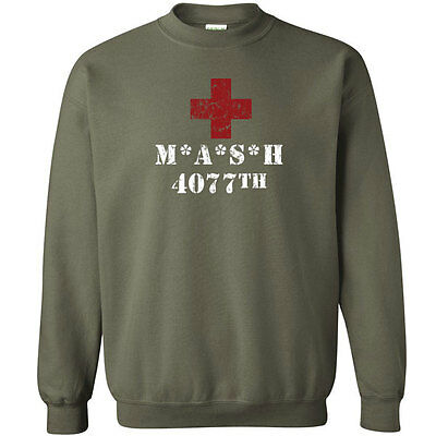 588 Army Military Costume Crew Sweatshirt funny tv show vintage retro new - Funny Army Costume