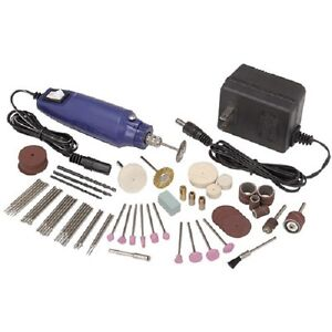 80pc Rotary Tool Kit Hobby Craft Cut Drill Grind Glass Jewelry fits Dremel Bits