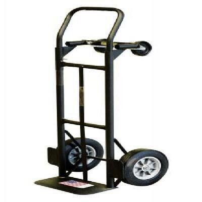 Milwaukee 800 Lb. Capacity 2-in-1 Convertible Hand Truck W10 Never Flat Tires