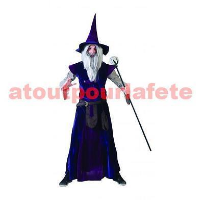 Kostüm Zauberer Gandalf,Sorcier,Halloween,Zubehörteil,Karneval,Kostüm