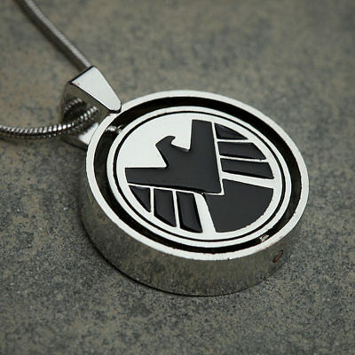 Marvel Avengers Agents Of S H I E L D  Shield Hydra Allegiance Necklace Pendant