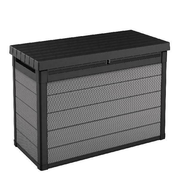 Keter Premier 150 Gallon Deck Box Resin Outdoor Storage Box