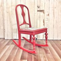 Child's Rocking Chair Beautifully Refinished
