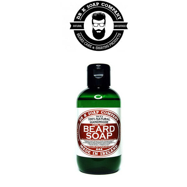 Dr K - Mint Beard Soap Sapone per Barba 100% Natural da 100 ml