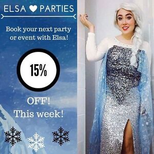 Elsa parties Elsa party Anna  Kawartha Lakes Peterborough Area image 1
