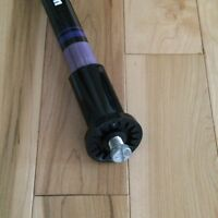 Olson purple curling broom