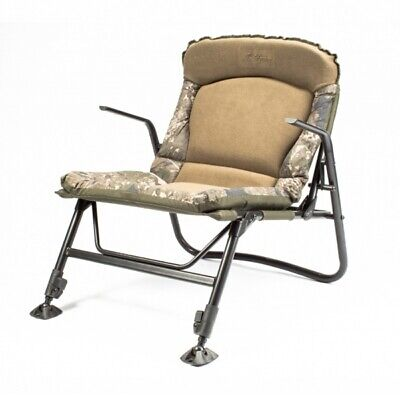 Nash Indulgence Sub-Lo Chair NEW Adjustable Carp Fishing Bed Chair With Armrests