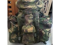 Military style bergen (surplus)