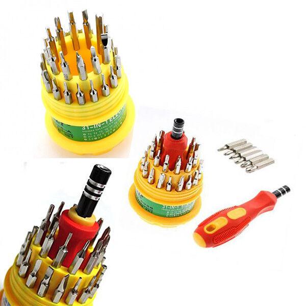 31 Mini Cacciaviti Di Precisione Professionali Fai da Te Lavoro Bricolage 321