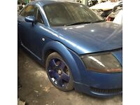 Audi TT 225 Breaking all parts available can post at cost
