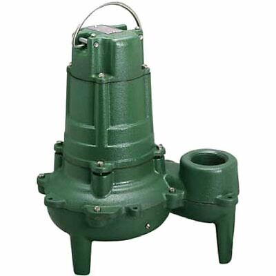 Zoeller N267 - 12 Hp Cast Iron Sewage Pump 2 Non-automatic