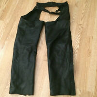 Leather chaps - Mens Large