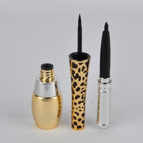2in1 Flüssig Eyeliner Stift Liquid Eyeliner Wasserdicht Dual Makeup Neu