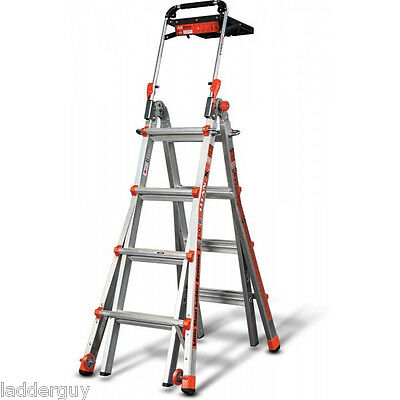 Little Giant Titanx Ladder - Model 17 With Airdeck Wheels - New