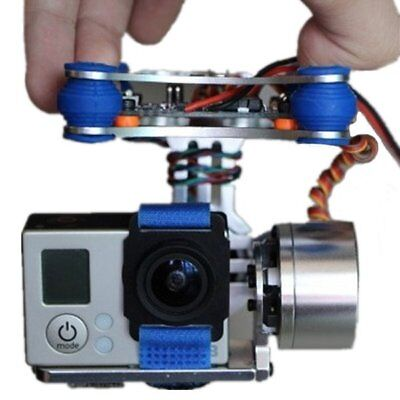 FPV 2 Axis Brushless Gimbal With Controller For DJI Phantom GoPro 3 for RC Drone