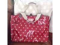 Cath Kidston Red Button Spot Laptop Bag