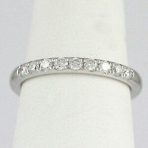 14k White Gold Diamond Band (0.36 tdw) #1933