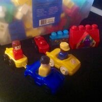 Extra Large Lego in storage bin with lid