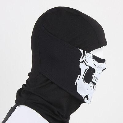 Balaclava - White Skull Neck Warmers Winter Sport Face Full Mask Hat Motorcycle