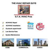 HVAC/Air Conditioning Repair & Service-  AFFORDABLE -Same Day!