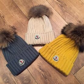 Moncler woolly hats - 3 colours - brand new