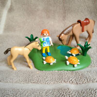 Playmobil horse set