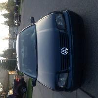 2002 Volkswagen Jetta Salvage status + winter tires