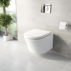 NEW Wall Hung Mode Tate Toilet