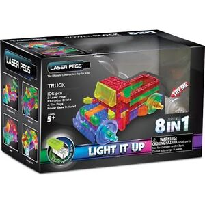 Laser pegs light up Lego truck. Brand new/never opened