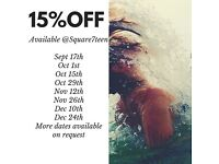 15% off at Square7teen