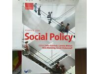 Social policy text book