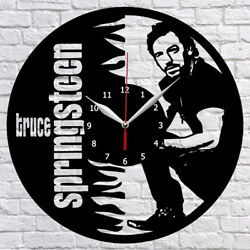 Bruce Springsteen Vinyl Record Wall Clock Fan Art Home Decor 12 30cm 1055