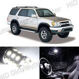 8 Light Bulb - White SMD LED Interior Package Kit - Toyota 4Runner