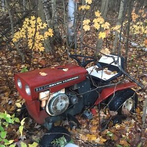 Old riding lawnmower for sale